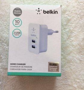 Belkin. Переходник для зарядки с двумя выходами