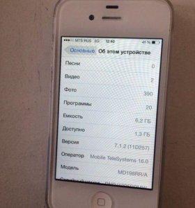 Айфон 4 8 гигов