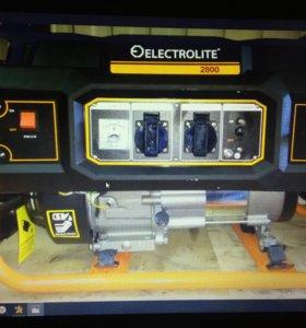 Генератор бензиновый Electrolite 2800 3000 ватт