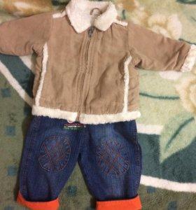 Курточка замша