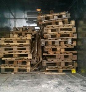Продам поддоны на дрова с доставкой