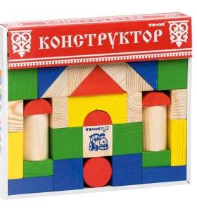 Конструктор деревянный Томик новый