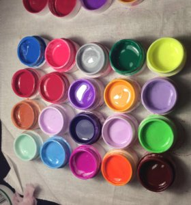 Гелевые краски
