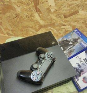 PS4 500Gb + 2игры