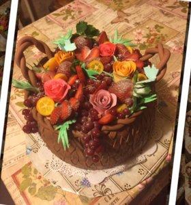 Тортики к праздникам