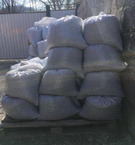 Песок, Щебень ,Гпс ,цемент в мешках