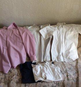 Рубашки- футболки