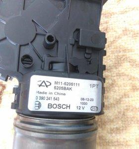 Мотор с/о лоб стекла CHERY М11 - 5205111 (ЦС)