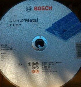 Отрезные круги Бош по металлу 230x3