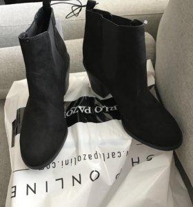 Новые ботинки Н&М 40-41р