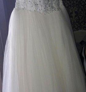 Свадебное платье (айвори)