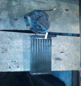 Радиатор и моторчик печки ВАЗ
