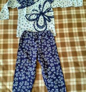 Новая детская пижама (девочки)