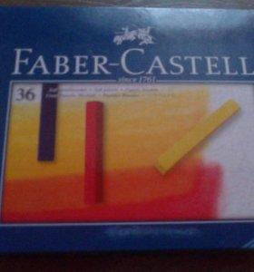 Пастель сухая новая Faber Castle