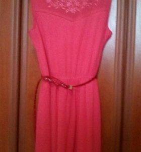 Платье из шифона р.46-48