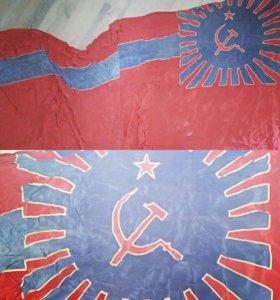 Советский флаг Грузии