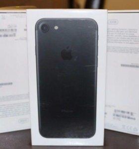 Новый iPhone 7 128 Matt черный матовый