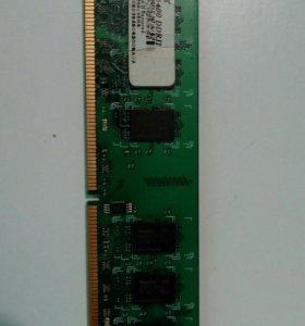 Оперативная память 2Gb PC6400 DDR2
