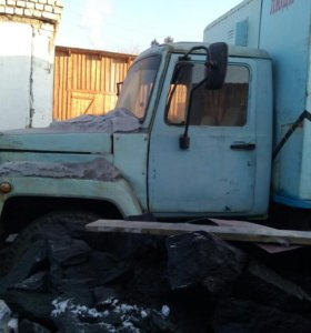 ГАЗ 53 на ходу