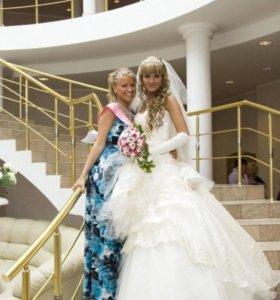 Свадебное платье,аренда