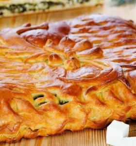 Пироги русские, осетинские на заказ