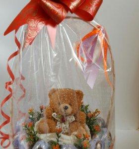 Подарок на День рождения ребенка из киндеров