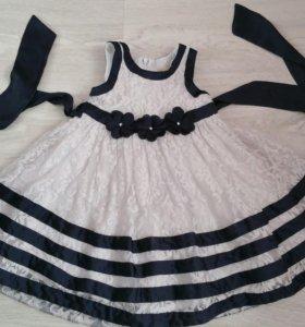 98 Нарядное платье