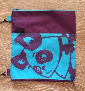 Детская сумочка под фломастеры