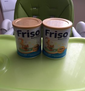 Смесь детская Friso 3 за две банки