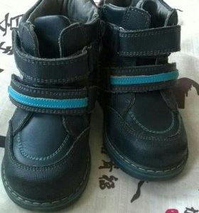 Демисезонные ботинки 24 р-р, кожа