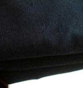 Ткань шерсть, шерсть + лавсан, черная