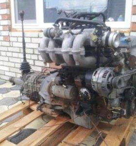 Продам двигатель 405 евро 2 с коробкой в сборе