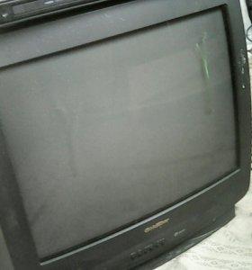 DVD с телевизором