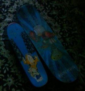 Два скейтборда