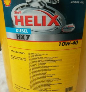 Масло Shell Helix 10w-40