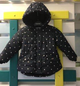 Демисезонная куртка на девочку, 86