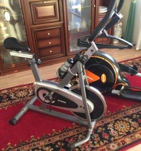 Тренажёр велосипед atemi