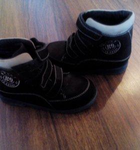 Ортопедические ботинки для мальчика