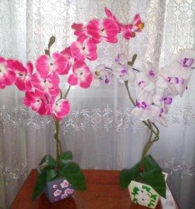 исскуственные орхидеи для декора