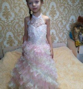 В прокат платье бальное