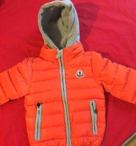 Новая детская куртка весна-осень