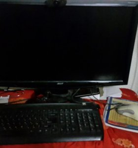 Компьютер игровой монитор процессор мыш клавиатура