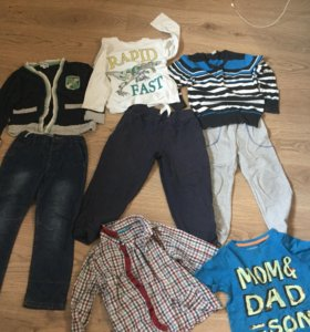 вещи для мальчика р 110-116