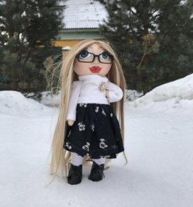 Интерьерная текстильная кукла 40см