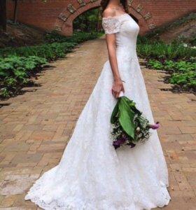 Свадебное платье кружевное Anne-Mariee 42-44