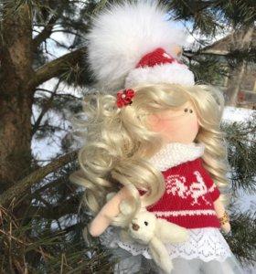 Интерьерная текстильная кукла 45см!!!
