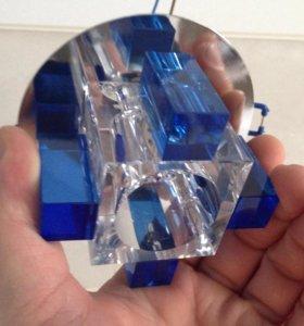 Светильник 311 хром, синий