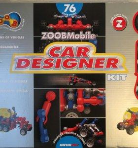 Новый набор ZoobMobil 76 деталей.