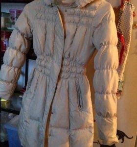 Куртка-плащ на весну-осень или тёплую зиму