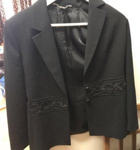 Пиджаки чёрные